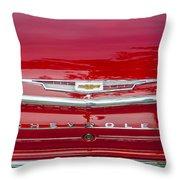 1962 Chevy Impala 409 Throw Pillow