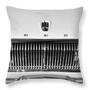 1962 Dodge Dart Grille Emblem Throw Pillow