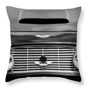 1963 Aston Martin Db4 Series V Vantage Gt Grille Throw Pillow by Jill Reger