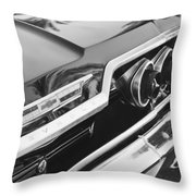 1963 Chevrolet Taillight Emblem Throw Pillow