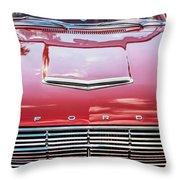 1963 Ford Falcon Sprint Convertible  Throw Pillow