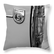 1964 Sunbeam Tiger Taillight Emblem Throw Pillow