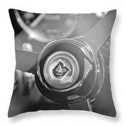 1965 Aston Martin Db5 Coupe Rhd Steering Wheel Throw Pillow