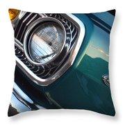1965 Dodge Coronet Throw Pillow
