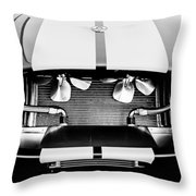 1965 Shelby Cobra Grille Throw Pillow