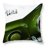 1966 Lotus Cortina Mk1 Taillight Emblem Throw Pillow