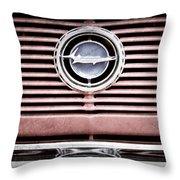 1966 Plymouth Barracuda - Cuda - Emblem Throw Pillow