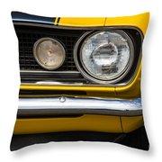 1967 Camaro Headlight Throw Pillow