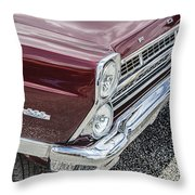 1967 Ford Fairlane 500xl Throw Pillow