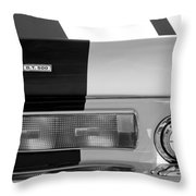 1967 Shelby Gt500 Fastback Taillight Emblem Throw Pillow