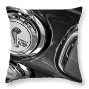 1968 Ford Mustang - Shelby Cobra Gt 350 Taillight And Gas Cap Throw Pillow
