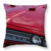 1968 Gto Throw Pillow