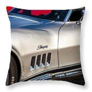 1969 Chevrolet Corvette 427   Throw Pillow