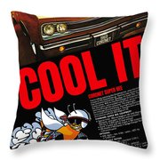 1969 Dodge Coronet Super Bee Throw Pillow