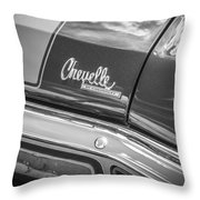 1970 Chevy Chevelle 454 Ss Bw  Throw Pillow