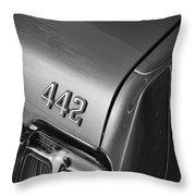 1970 Oldsmobile 442 W-30 Throw Pillow