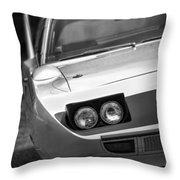1970 Plymouth Road Runner Superbird Throw Pillow