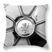 1971 Iso Fidia Wheel Emblem Throw Pillow