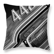 1971 Oldsmobile 442 Taillight Emblem Throw Pillow