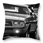 1972 Dodge Challenger Throw Pillow