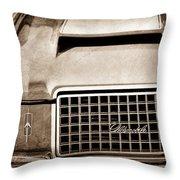 1972 Oldsmobile Grille Emblem Throw Pillow