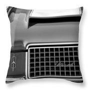 1972 Oldsmobile Grille Throw Pillow