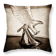1986 Zimmer Golden Spirit Hood Ornament Throw Pillow