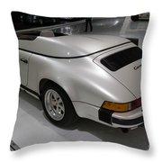 1987 Porsche 911 Carrera 3.2 Speedster Studie Throw Pillow