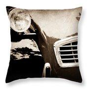 1988 Citroen 2cv Charleston Throw Pillow