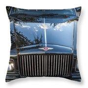1990 Bentley Turbo R Throw Pillow