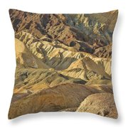 20 Mule Team Canyon Throw Pillow