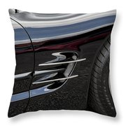 2002 Corvette Ls1 5 7ltr Throw Pillow
