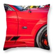 2006 Ford Saleen Mustang  Throw Pillow