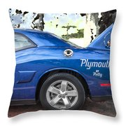 2010 Plymouth Superbird  Throw Pillow
