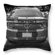 2013 Ford Shelby Mustang Gt500 Throw Pillow
