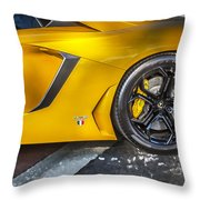 2013 Lamborghini Adventador Lp 700 4 Throw Pillow