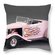 '32 Ford Hot Rod Throw Pillow
