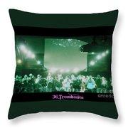 36 Trombones Throw Pillow