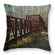 A Bridge Too Far Throw Pillow