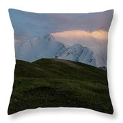 A Couple Of Mountaineers Throw Pillow