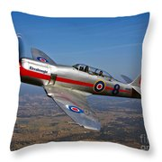 A Hawker Sea Fury T.mk.20 Dreadnought Throw Pillow