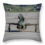 A Hellenic Air Force T-2 Buckeye Throw Pillow