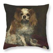 A King Charles Spaniel Throw Pillow