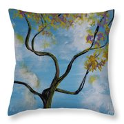 A Little All Over The Place Throw Pillow