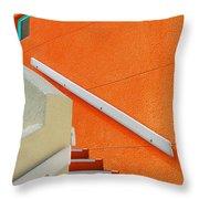 a L'orange Throw Pillow