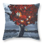 A Ray Of Healing Throw Pillow