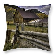 A Simpler Life Throw Pillow