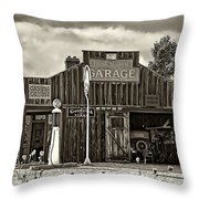 A Simpler Time Sepia Throw Pillow