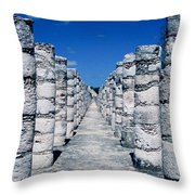 A Thousand Columns Throw Pillow