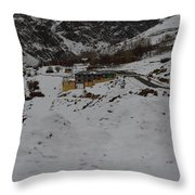 A Trip To Snow Throw Pillow